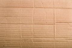Cardboard scrap Stock Image