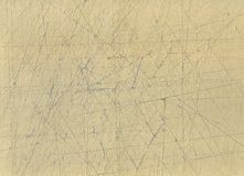 Cardboard. A scraped cardboard for backgrounds Royalty Free Stock Images