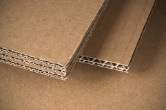Cardboard sheet Royalty Free Stock Photo