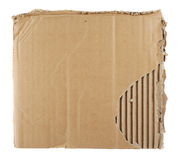 Cardboard sheet background Stock Photo