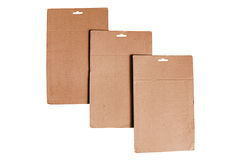 Cardboard sheets Stock Photo