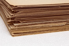 Cardboard sheets Royalty Free Stock Images