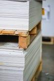 Cardboard sheets Royalty Free Stock Image