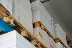 Cardboard sheets Stock Photography