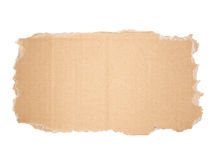 Cardboard sign Royalty Free Stock Images
