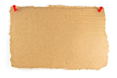 Cardboard sign Royalty Free Stock Photo