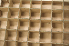 Cardboard structure Stock Photo