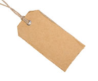 Cardboard Tag Royalty Free Stock Images