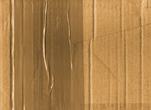 Cardboard and tape background Stock Photography