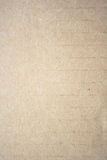 Cardboard Texture. Brown carton paper grunge background Stock Photography