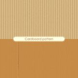 Cardboard Texture. Vector illustration of different cardboard texture Royalty Free Stock Image