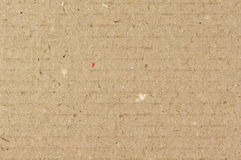 Cardboard texture. For use as a background Royalty Free Stock Photography