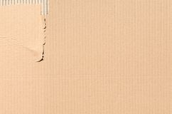 Cardboard texture or background Royalty Free Stock Photos