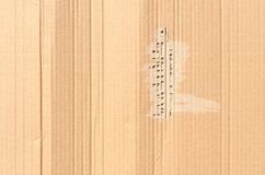 Cardboard texture or background Stock Photos