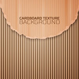 Cardboard texture background Royalty Free Stock Photos