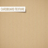 Cardboard texture. Illustration of realistic carton texture. Seamless cardboard pattern Royalty Free Stock Image
