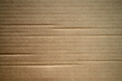 Cardboard texture. Macro and background stock images