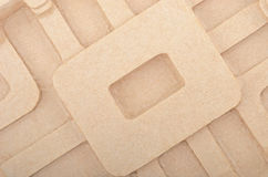 Cardboard textured background Royalty Free Stock Photography