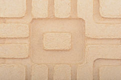 Cardboard textured background Royalty Free Stock Photos