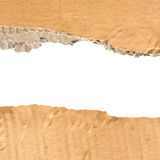 Cardboard torn paper Royalty Free Stock Photography