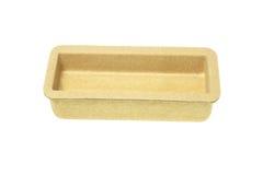 Cardboard Tray Stock Image