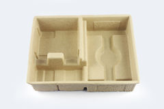 Cardboard Tray Stock Photography