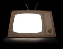 Cardboard TV Royalty Free Stock Photo