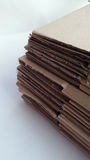 Cardboard from unfold carton Royalty Free Stock Image