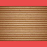 Cardboard vector background Royalty Free Stock Image