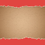 Cardboard vector background Royalty Free Stock Photos