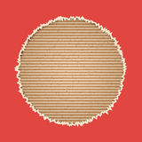 Cardboard vector background Royalty Free Stock Photo