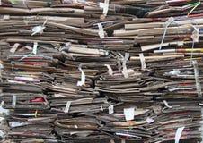 Cardboard waste Royalty Free Stock Photo