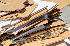 Cardboards Stock Images