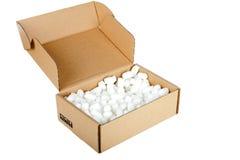 Cardbox Imagen de archivo libre de regalías
