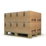 Cardboxes Στοκ φωτογραφία με δικαίωμα ελεύθερης χρήσης