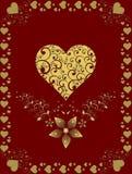 carde le valentine du jour s Photos stock
