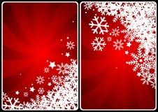 carde Noël Photos libres de droits