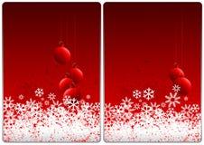 carde Noël Photographie stock libre de droits