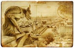 carde parisien Photographie stock libre de droits