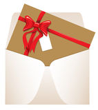 Carde y envuelva Imágenes de archivo libres de regalías