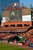 Cardeais de St Louis do estádio de Busch Fotos de Stock Royalty Free
