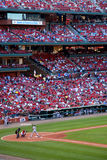 Cardeais de St Louis do estádio de Busch Imagem de Stock Royalty Free