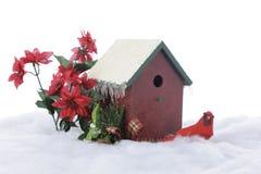 Cardeal do Natal Fotos de Stock Royalty Free