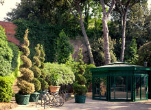 Carden Giardino Scotto in Pisa Royalty Free Stock Photo