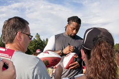 Cardenales Darnell Dockett del NFL Arizona Foto de archivo libre de regalías