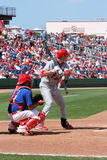 Cardenales del St Loius del béisbol de MLB contra Phillies imágenes de archivo libres de regalías