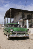 Cardenas, Cuba - November 26, 2015: Vintage car Oldtimer Royalty Free Stock Photos