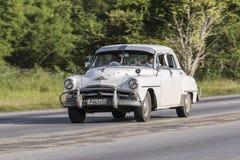 Cardenas, Cuba - 26 novembre 2015 : Oldtimer de voiture de vintage Image libre de droits