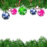 cardez la salutation de Noël Photos libres de droits