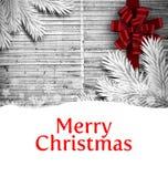 cardez la salutation de Noël Photo libre de droits